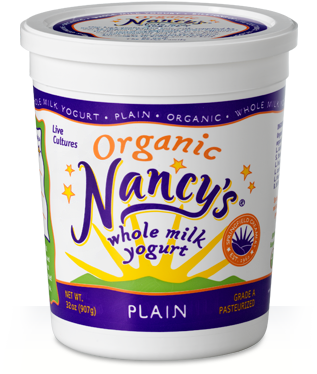 Nancy's Whole Milk Plain Yogurt