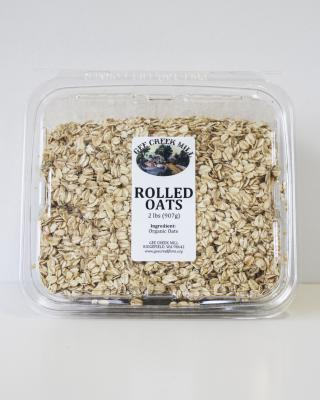 Gee Creek Organic Rolled Oats